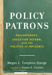 Maribel Morey Reviews Tompkins-Stange's POLICY PATRONS (2016)