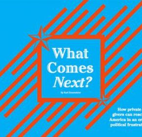 "A History of Voluntary Action and Political Frustration: Soskis on  Zinsmeister's ""What Comes Next?"""
